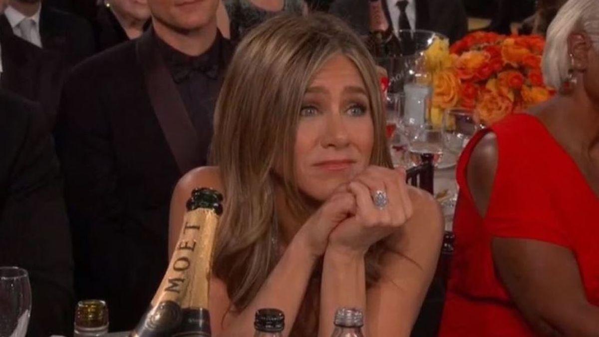 Así fue la mirada de Jennifer Aniston hacía Brad Pitt en los Globos de Oro que se ha hecho viral