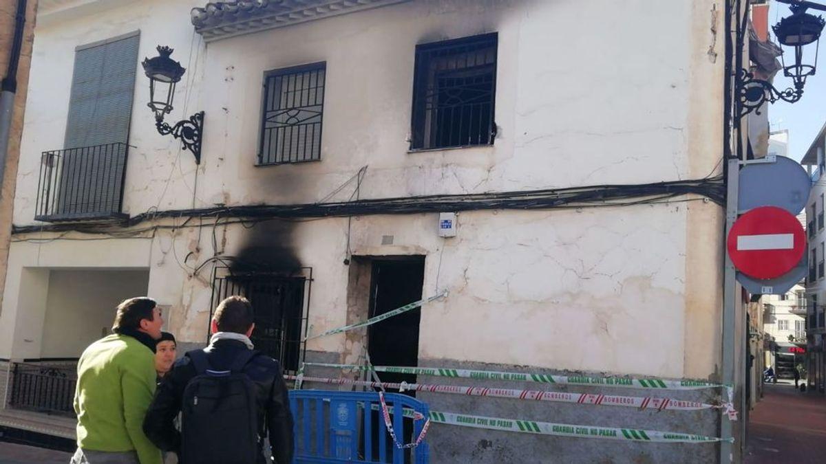 Muere un hombre en el incendio de su casa en Murcia