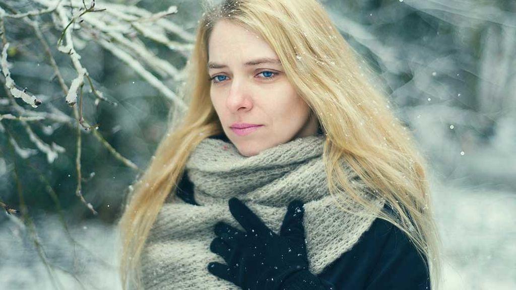 Algunas personas experimentan reacciones en la piel cuando se exponen al frío