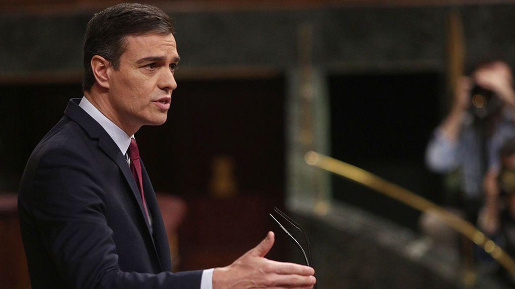 Las cinco frases de Pedro Sánchez en el debate de investidura