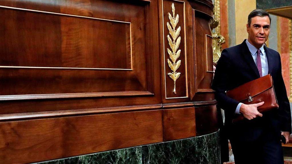 Minuto a minuto: Segunda votación para investir a Pedro Sánchez