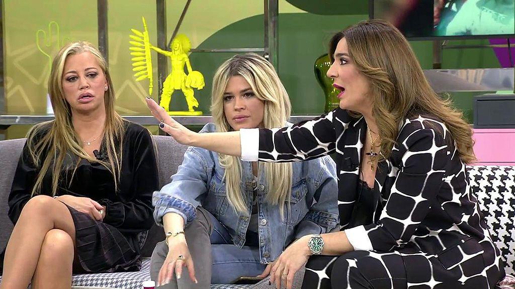 """Raquel Bollo no entiende Isa Pantoja: """"¿Cuándo es tu familia? ¿Cuando te conviene? Porque yo he visto revistas donde dice que no es su familia"""""""