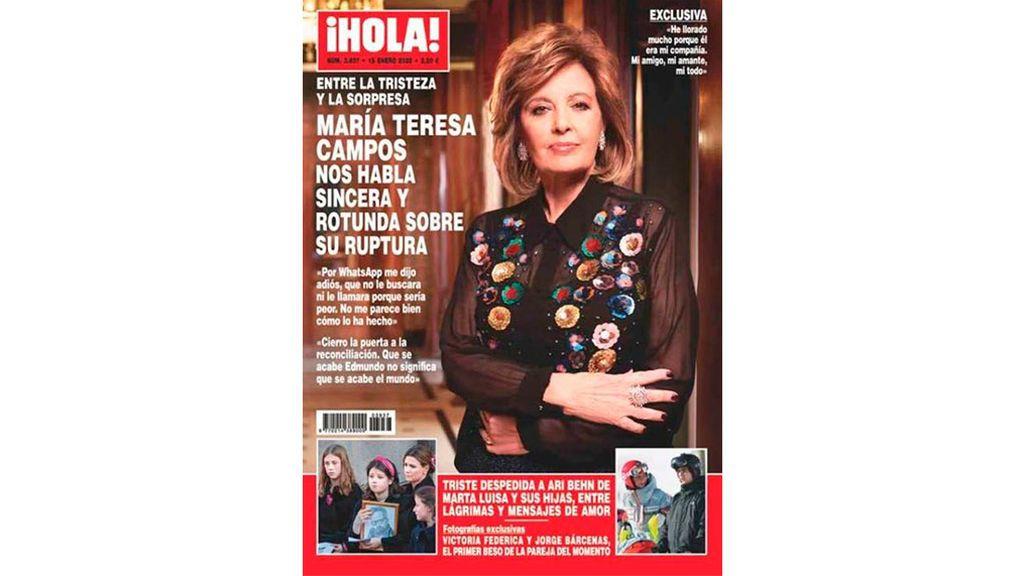 María Teresa Campos en Hola