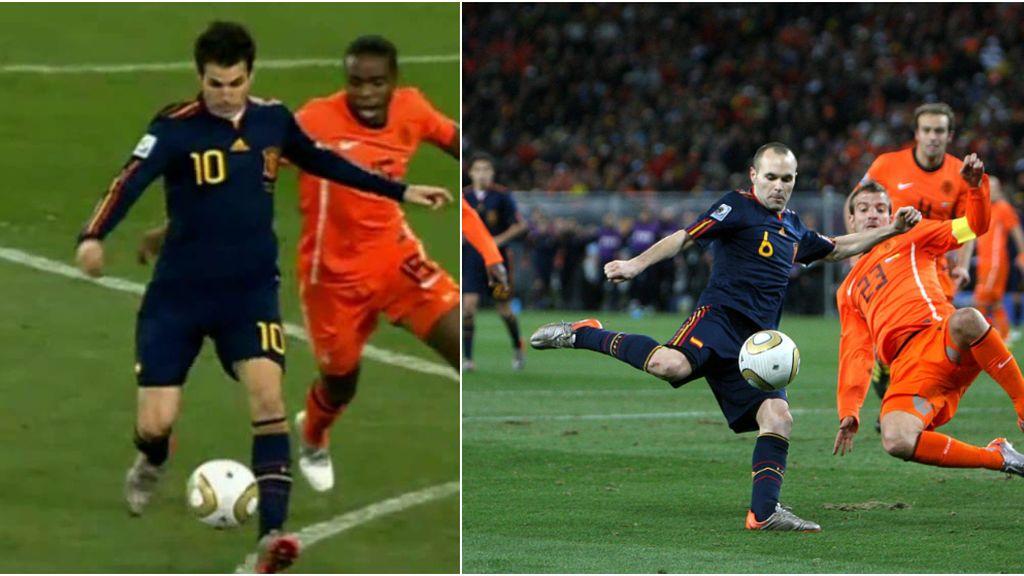 """La confesión de Fábregas sobre la asistencia a Iniesta en la final del Mundial: """"Cuando le di el pase, sabía que ya eramos campeones del mundo"""""""