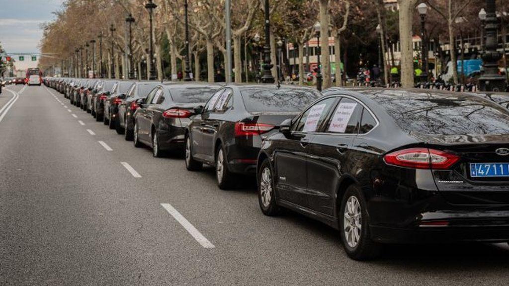 Récord de licencias para  Uber y Cabify en España