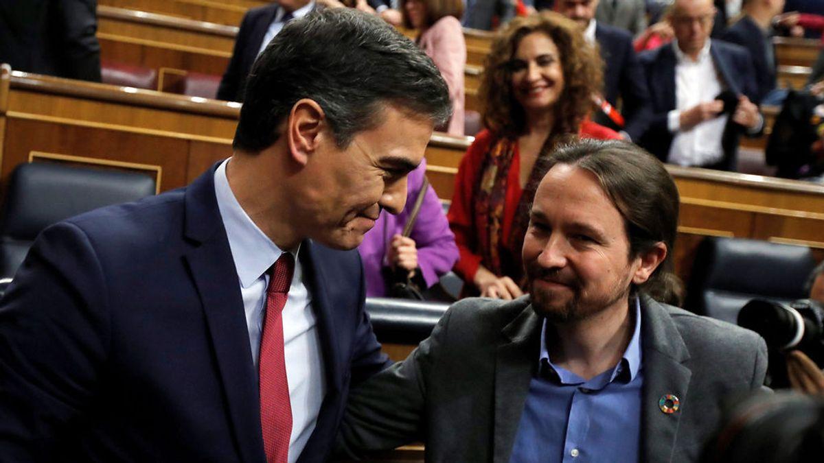PSOE y Podemos crean una mesa para unificar criterio, coordinar sus acciones y evitar contradicciones