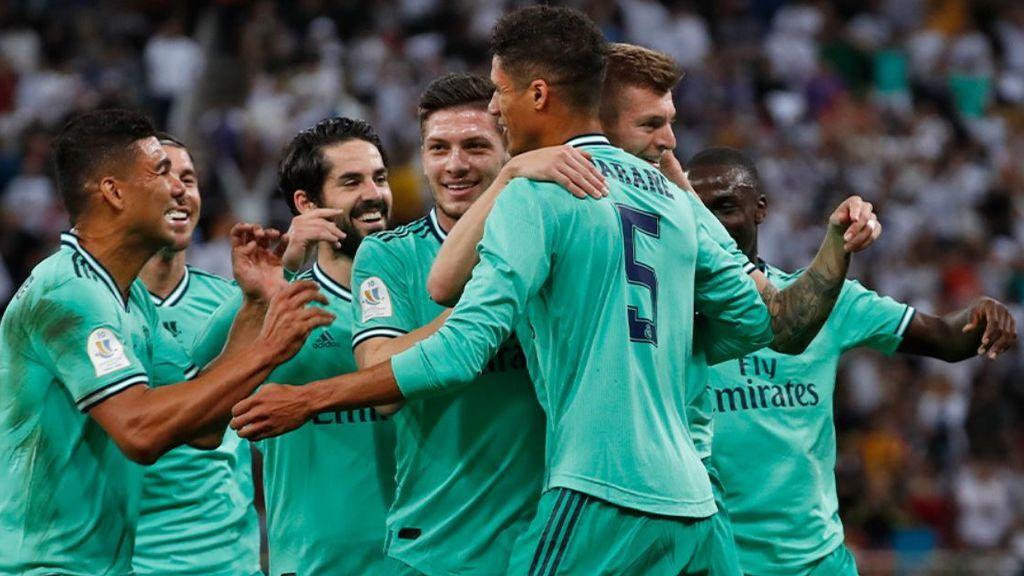 El Real Madrid vence al Valencia y ya espera rival para la final de la Supercopa de España