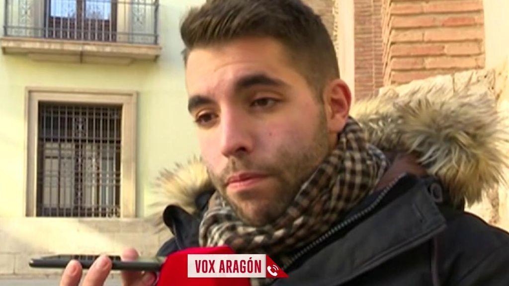 Vox Aragón responde por su diputada de Teruel
