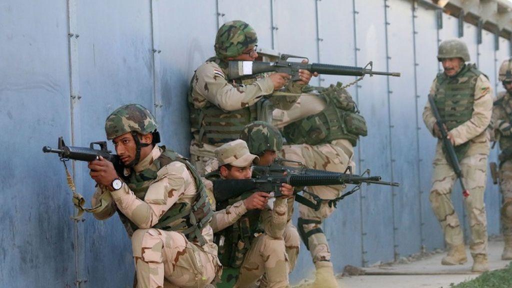 Los soldados españoles en Irak están 'tranquilos pese a la tensión'