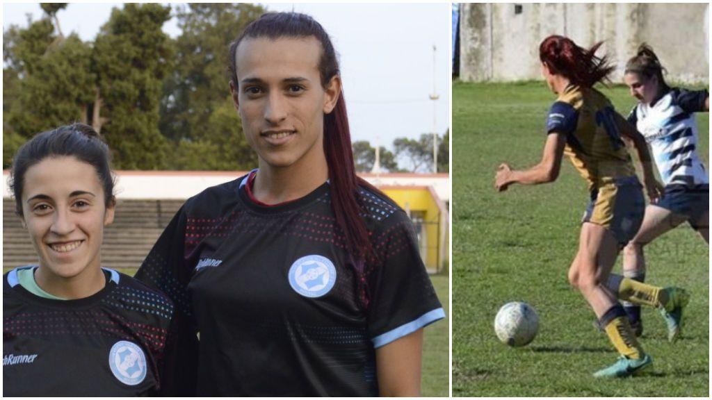 """La primera mujer transexual en jugar en la Primera División Argentina femenina: """"Todas tenemos el mismo trabajo"""""""