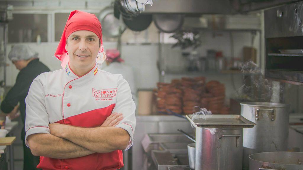 El chef español Felipe Antonio Díaz Zamora, asesinado a tiros en Tijuana