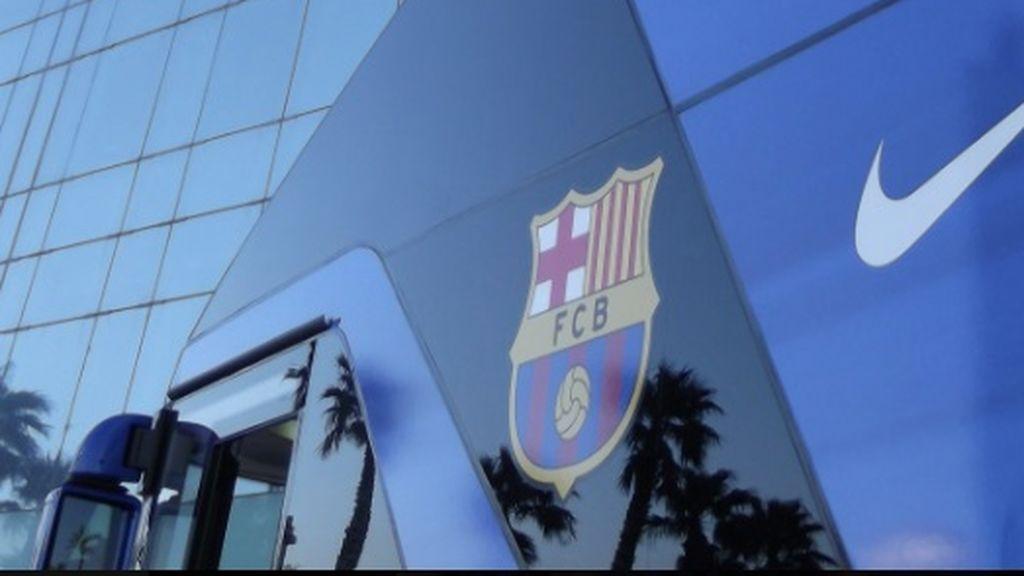 El conductor del autobús del Barça se pierde: aparecen en otro estadio y tienen que cancelar la rueda de prensa