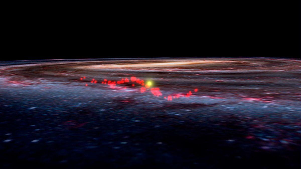 Descubren la mayor 'guardería' de la Vía Láctea donde nacen estrellas