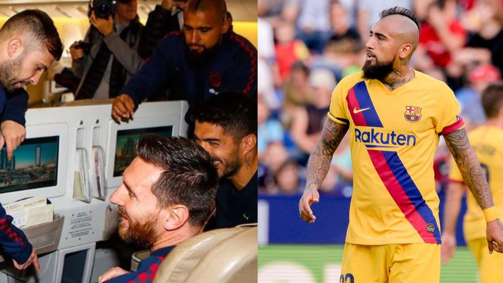 El vestuario del Barça pide a Arturo Vidal que se no vaya en el mercado de invierno