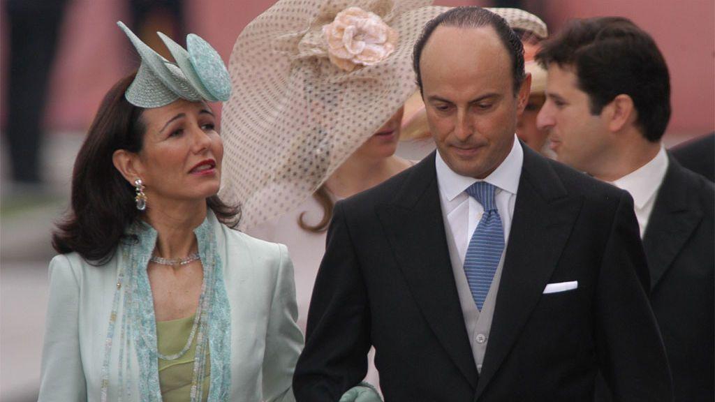 Ana Botín y su marido