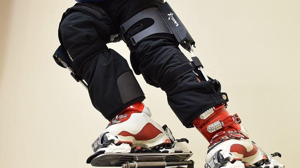 exoesqueletos para esquiadores