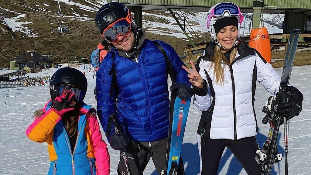 El vídeo de Ella Bisbal esquiando