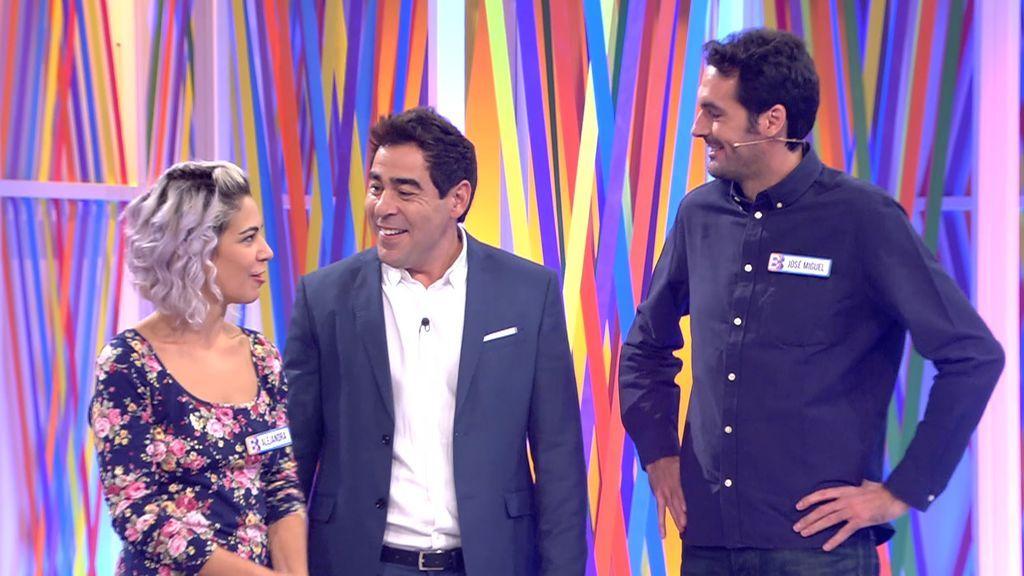 José Miguel y Alejandra se despiden de 'El Bribón'