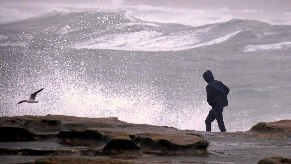 Una borrasca hará estragos en el norte: aviso naranja por olas de 7 metros