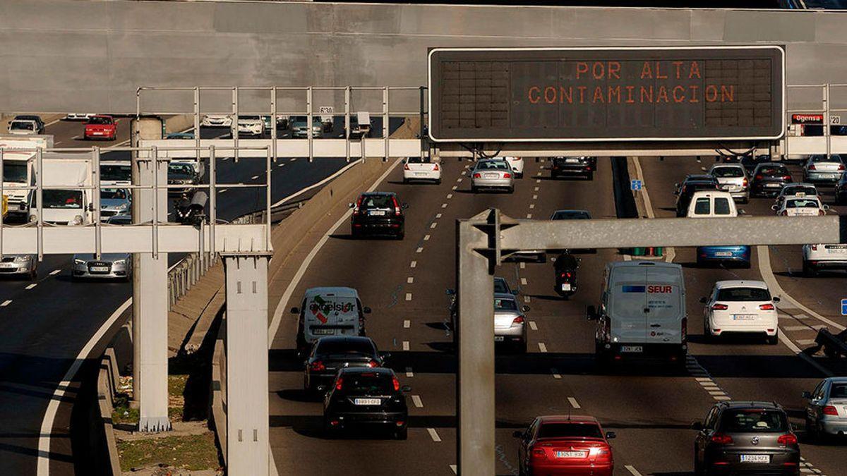 El viernes se mantiene el protocolo anticontaminación: velocidad máxima a 70 kilómetros por hora en la M-30