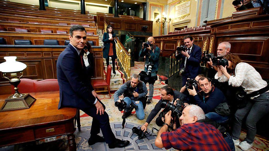 Sánchez comunicará el domingo al Rey la lista de ministros y el martes, primer Consejo de Ministros