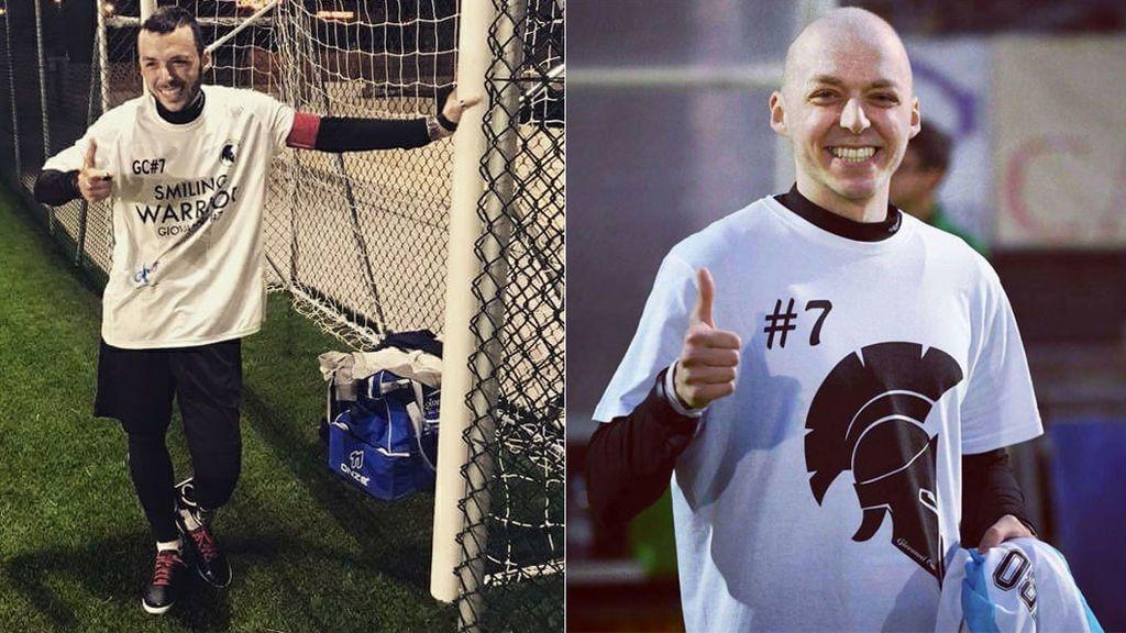 """Un futbolista decide sedarse por los dolores de un cáncer y se despide con un mensaje: """"Podré aliviar mi malestar"""""""
