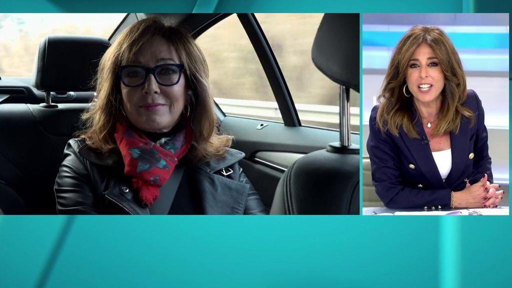 Ana Rosa, camino de la prisión de Lledoners para entrevistar a Oriol Junqueras
