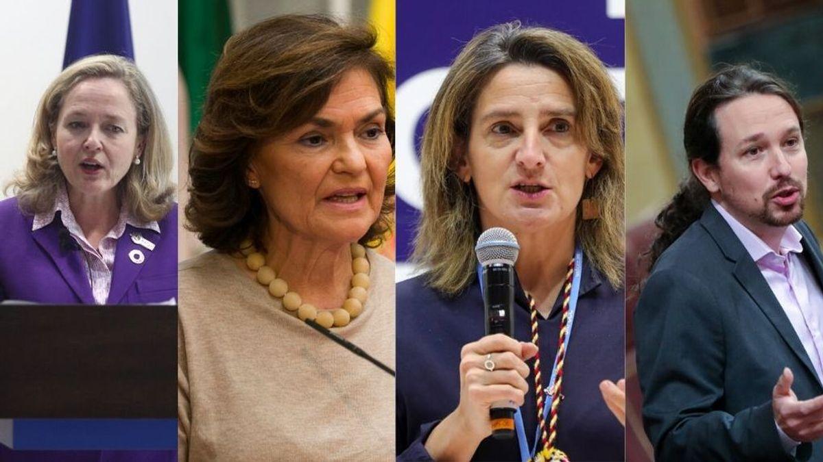Tres vicepresidentas y un vicepresidente para Pedro Sánchez