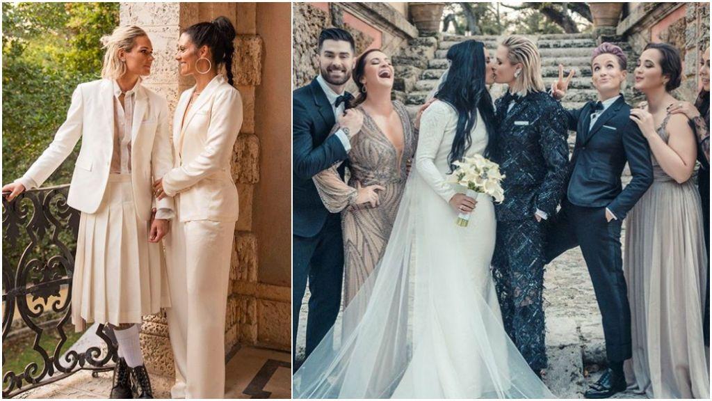 Las futbolistas estadounidenses Ali Krieger y Ashlyn Harris se casan tras 10 años de relación