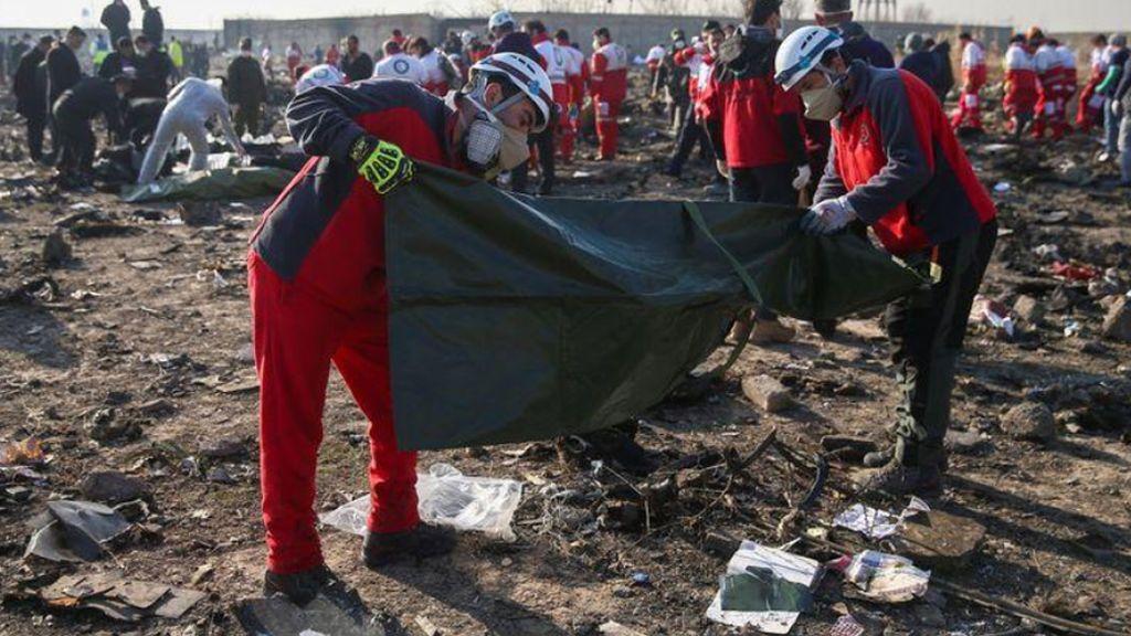 Irán confirma que el accidente del Boeing 737 se produjo por un fallo técnico