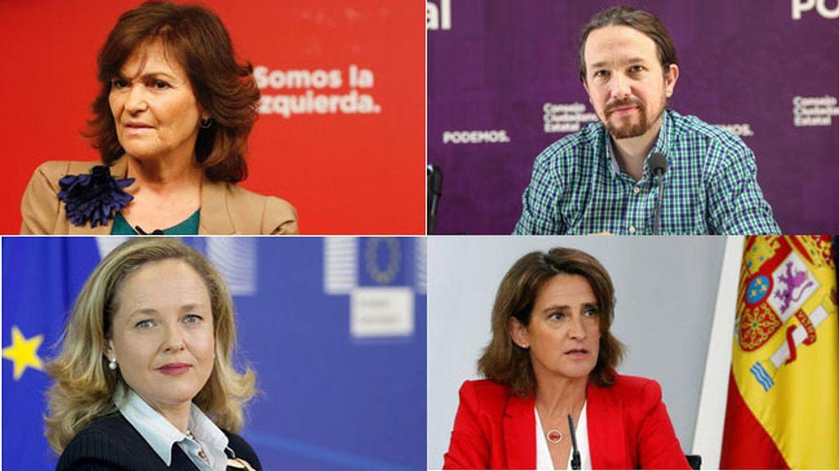 Las cuatro vicepresidencias del Gobierno implica pasar de 78.000 a 312.000 euros en sueldos anuales