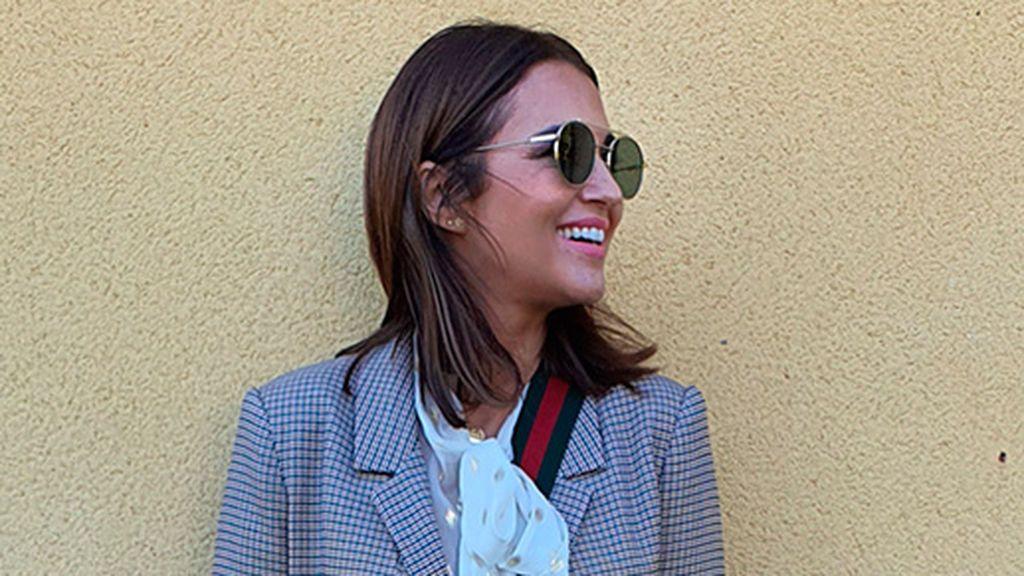 """Paula Echevarría apuesta por el abrigo mega 'low cost' diseñado por Dulceida: """"Básicos que crean algo especial"""""""