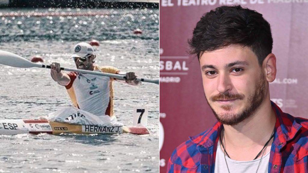 """El piragüista Javier Hernanz ofrece a Luis Cepeda ser su pareja en los Juegos Olímpicos: """"Vaya secada"""""""