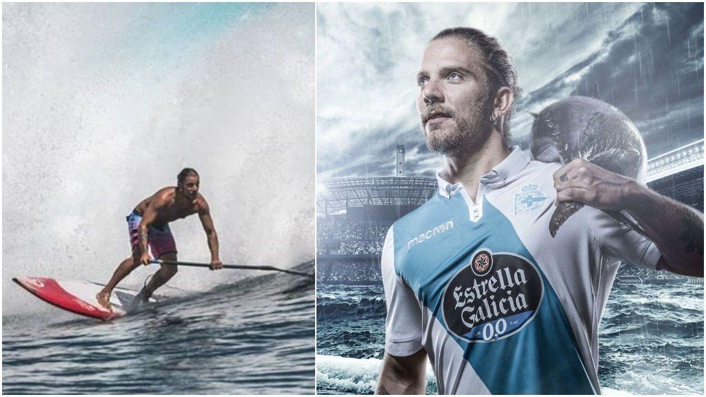 """La investigación de la muerte de Diego Bello, surfista y ex futbolista del Deportivo, se centra en la negativa al pago de """"impuestos ilegales"""""""