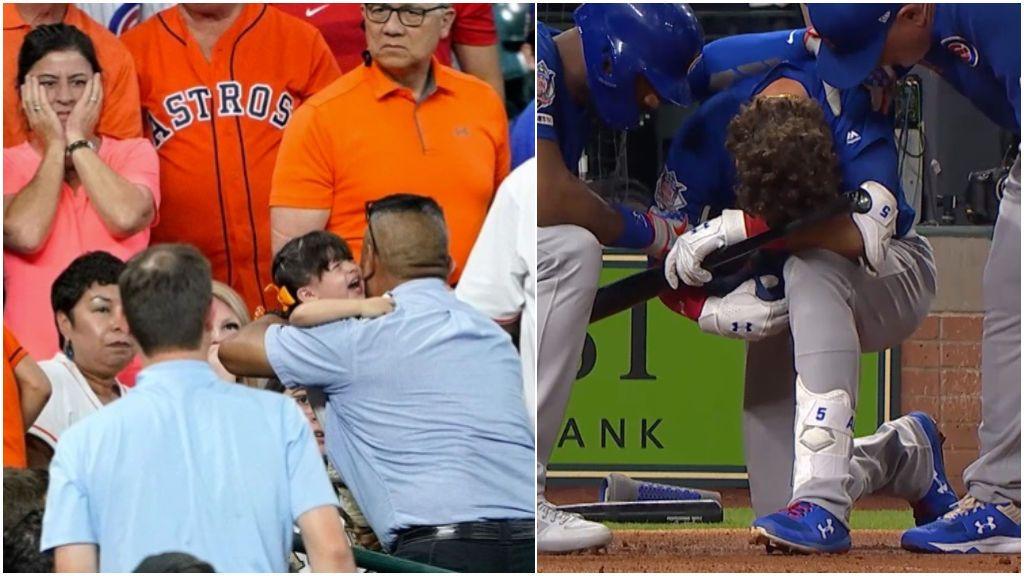 Una niña de dos años sufre daños cerebrales irreversibles tras el pelotazo de una bateador de los Cubs