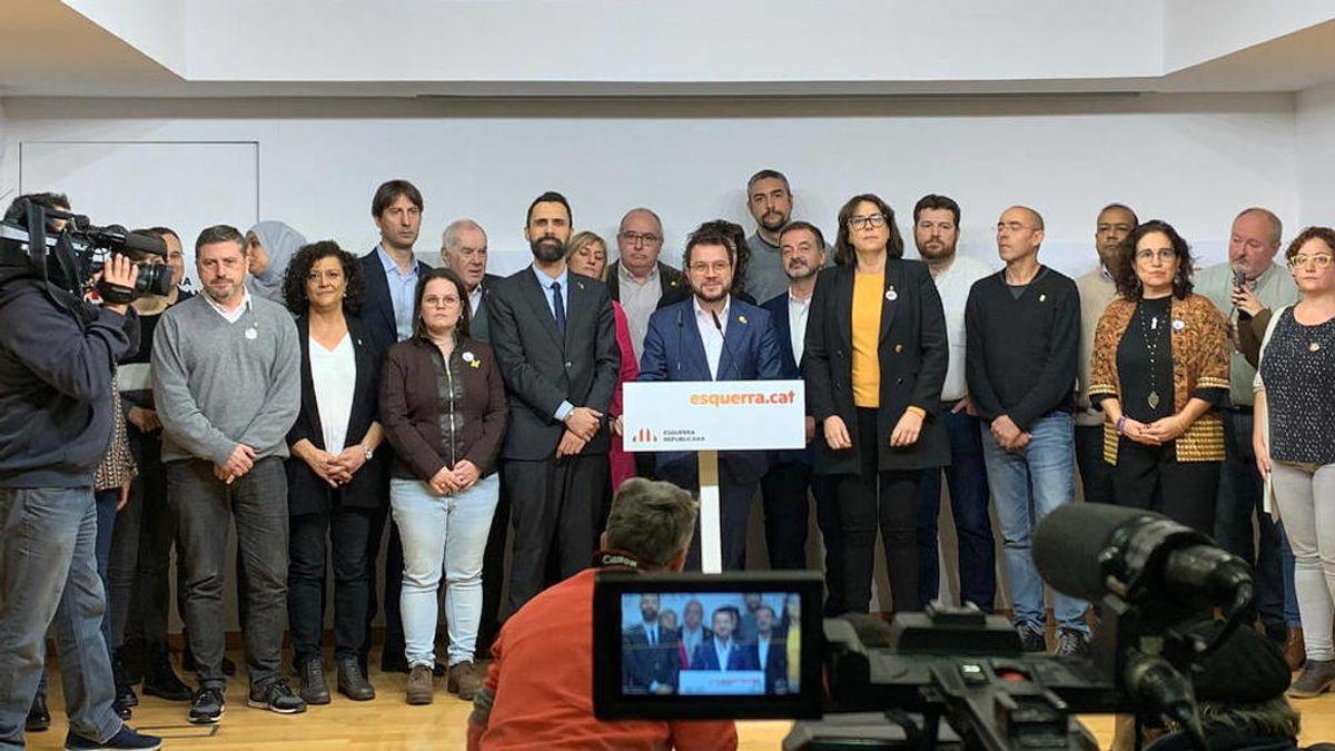 El independentismo arremete contra la justicia española pero mantiene los acuerdos