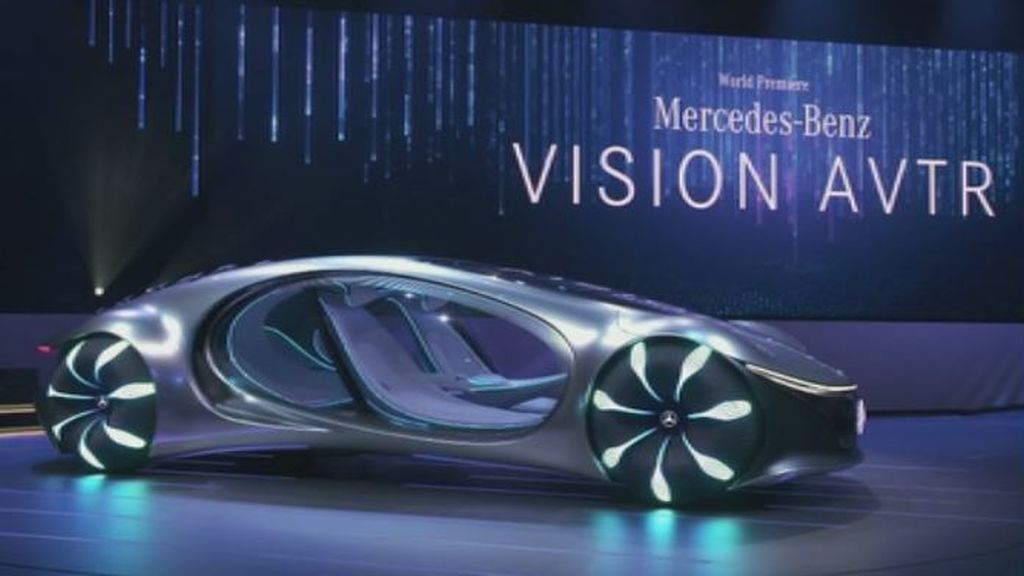 El mundo de Avatar se cuela en el nuevo diseño de Mercedes-Benz