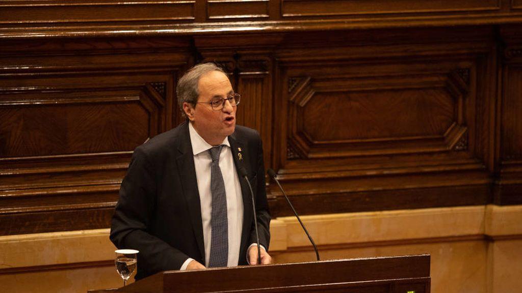 Torra y Puigdemont contra la resolución de Junqueras