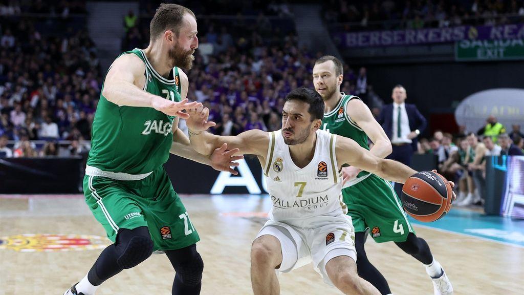 El Madrid vence a Zalguiris y consigue la mejor racha de victorias en la Euroliga