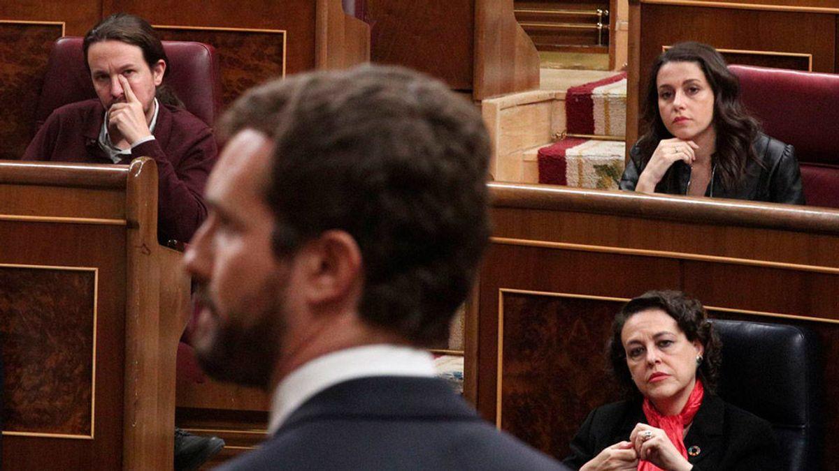 """PP y C's 'suman' lenguaje para arremeter contra los """"egos"""" del nuevo gobierno"""
