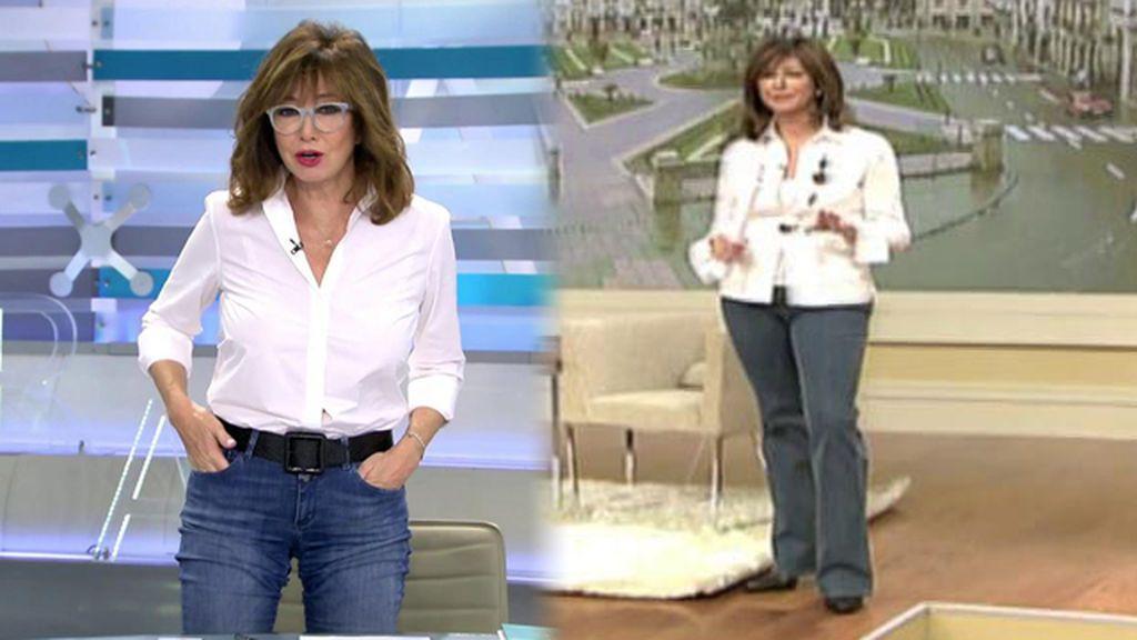 """Ana Rosa celebra su 15 aniversario de programa con la misma ropa: """"Los que quieren que me jubile, van listos"""""""