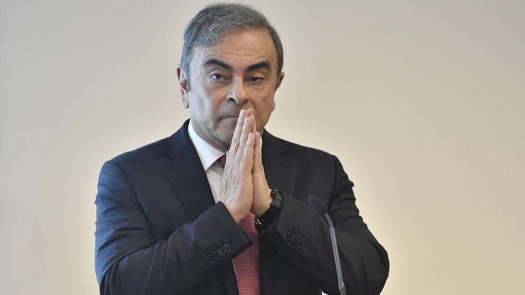 El plan de huida de Carlos Ghosn le ha costado 13,5 millones de euros