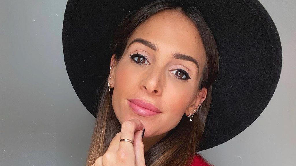 Tapándose la cara: el selfie premamá de Rocío Osorno con el que afronta la recta final de su embarazo