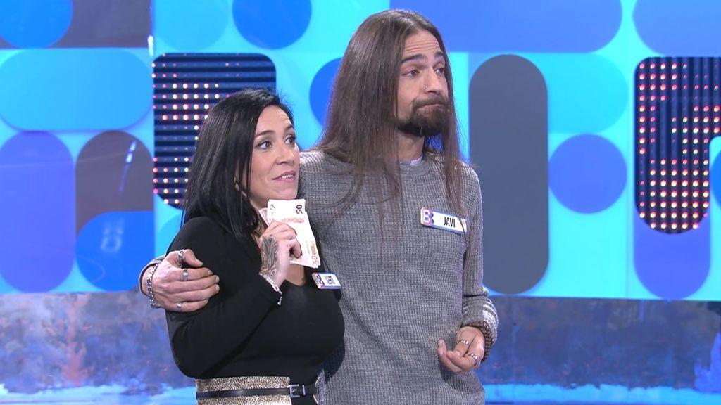 Javi y Vero deciden no arriesgar y aciertan aceptando los 803€ ofrecidos por Pablo Chiapella