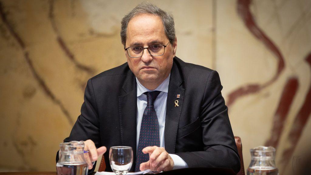 La Junta Electoral de Barcelona retira el escaño del Parlament a Quim Torra