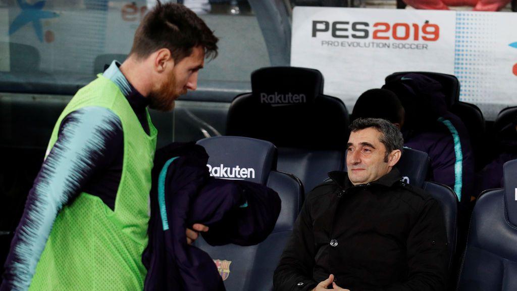 Valverde regala cuatro días de vacaciones al Barça tras el gesto de los 'pesos pesados' dando la cara por él