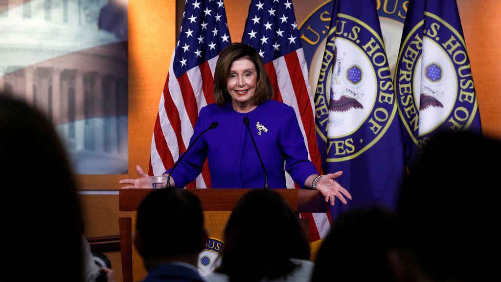 """Pelosi anuncia """"impeachment"""" en el Senado la semana que viene"""