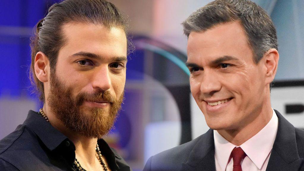 Cómo darle la vuelta a un parecido viral: el aspecto de Pedro Sánchez con la barba y el pelo de Can Yaman