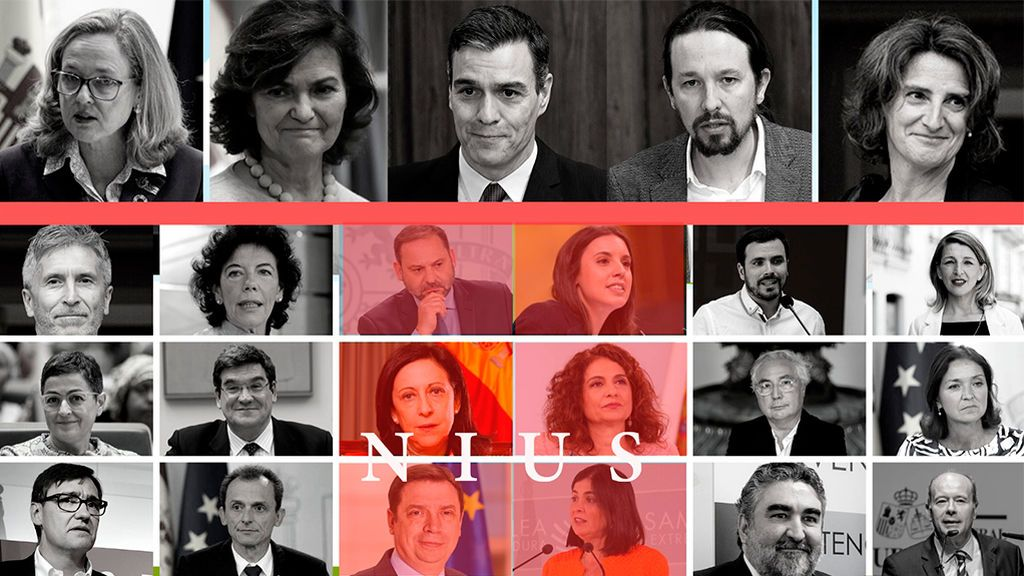 Sánchez refuerza la presencia del PSOE en un Ejecutivo con menos proporción de mujeres
