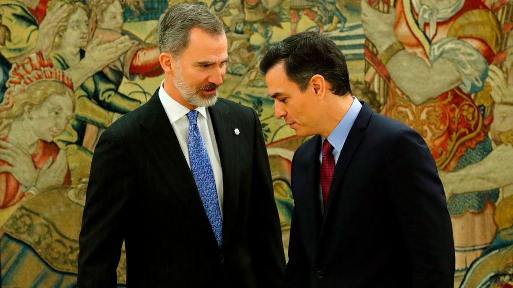 """El nuevo Gobierno se presenta ante el """"ciudadano Borbón"""" por teléfono y con todo ya anunciado"""